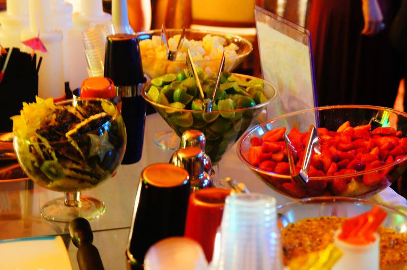Casamento festa bartender