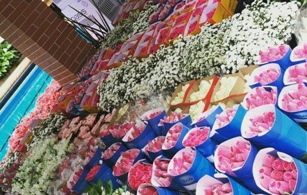 Flores festa de casamento Preta Gil