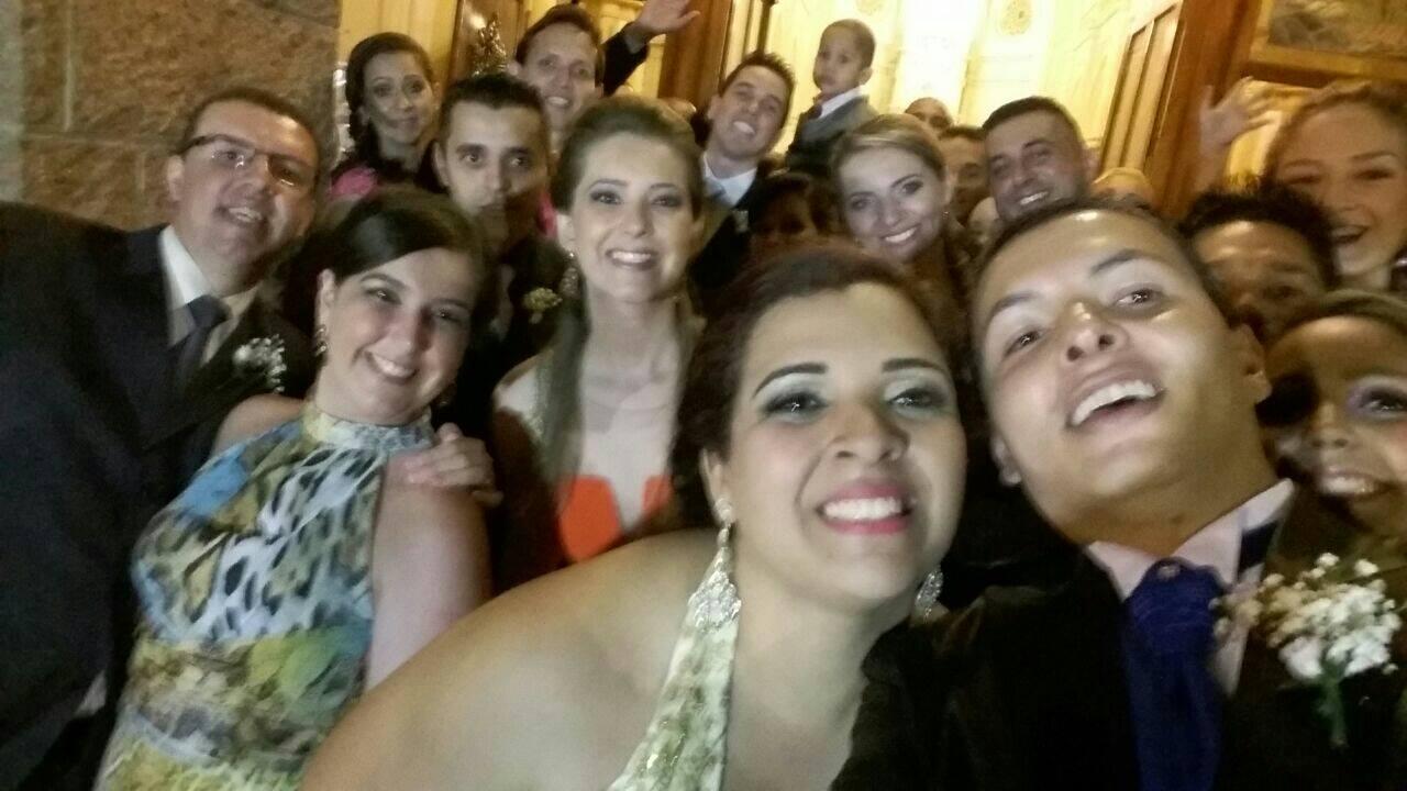 Selfie casamentos