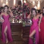 Modelo vestido estilista Luciana Collet