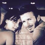 Beckham comemora aniversário de casamento
