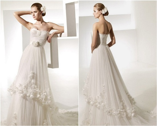 Compre um vestido de noiva usado