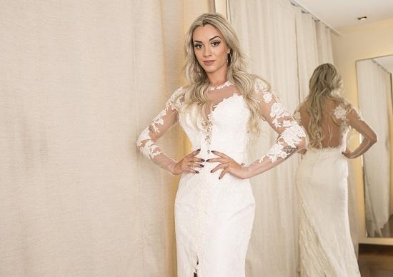 Juju Salimeni vestido de noiva