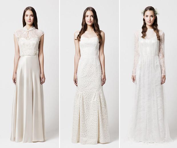 Menos é mais vestidos de noiva minimalistas viram tendência  24