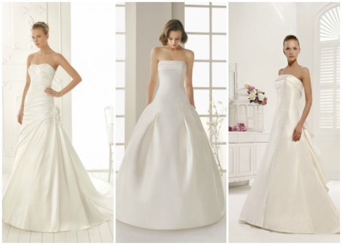 vestido noiva minimalista