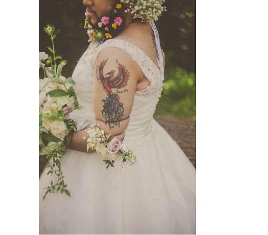 Harnaam Kaur ensaio de noiva