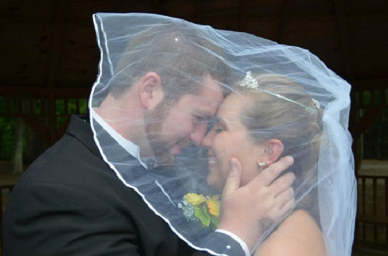 casamento de Justice e Jeremy Stamper