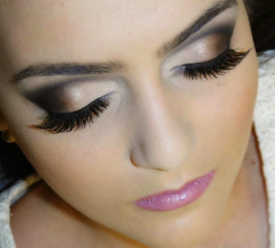 maquiagem noiva olhos marcantes