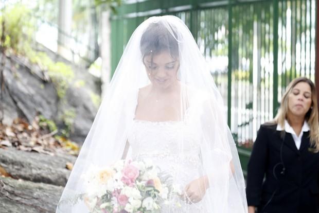 Sophie Charlotte de noiva antes do casamento (Foto: Felipe Assunção/Ag.News)