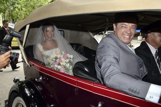 Sophie Charlotte e Daniel de Oliveira casamento