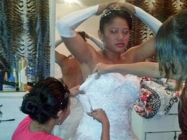 vestido de noiva errado
