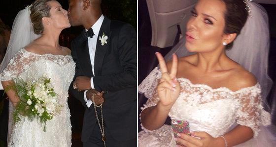 Vestido casamento Fernanda Souza
